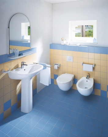 duravit bathroom series duraplus washbasins toilets bidets urinals and accessories from duravit