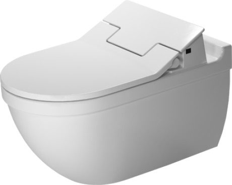 Starck 3 Toilet Wall Mounted For Sensowash 222659 Duravit