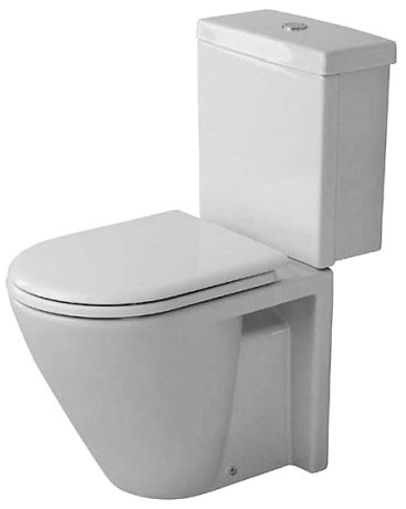 Starck 2 Toilet close-coupled #023809 | Duravit