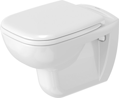 D-Code Toilet wall mounted #253509 | Duravit