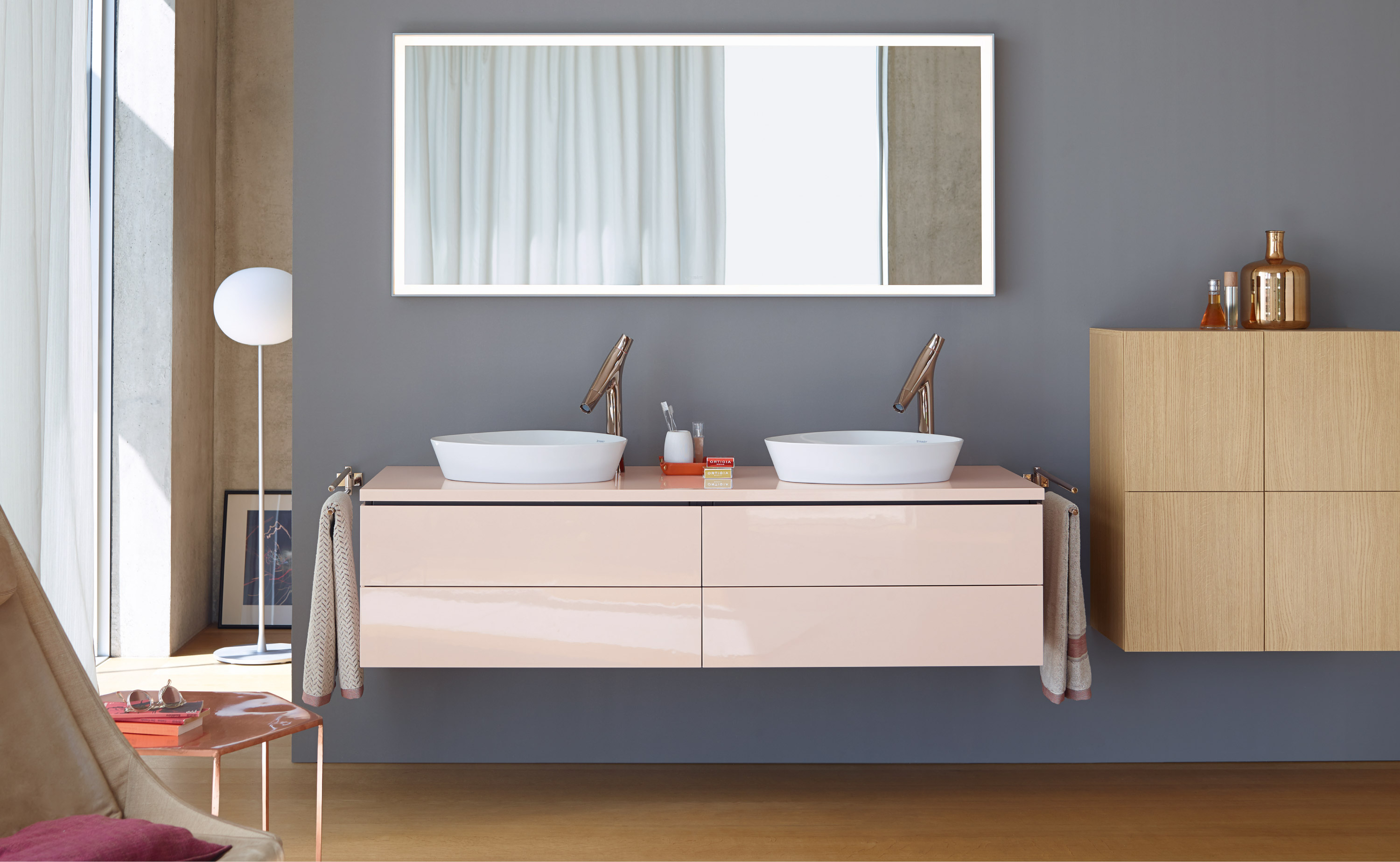 L Cube Vanity Unit Wall Mounted Lc6276 Duravit