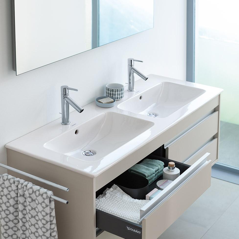 Double Washbasins