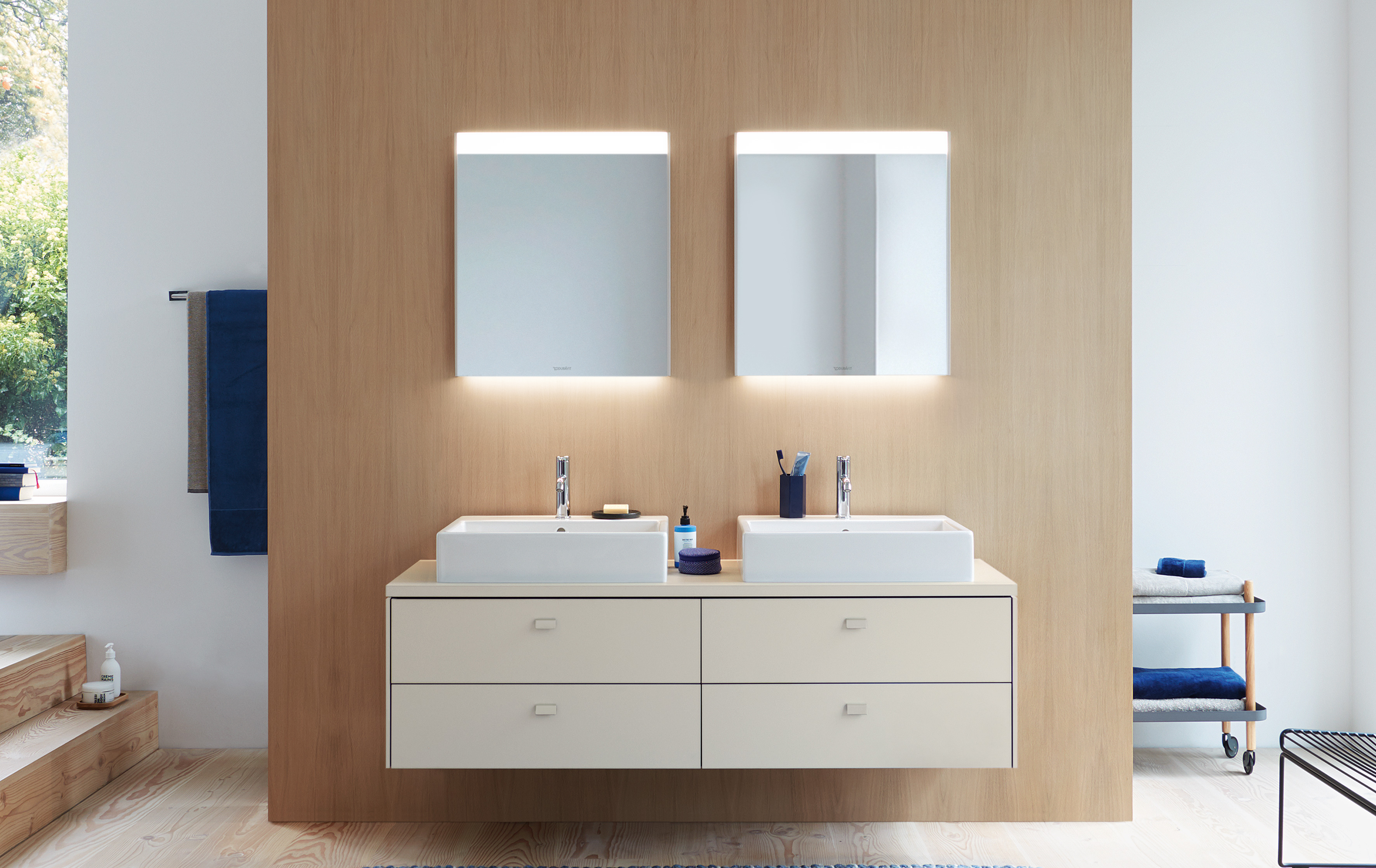 For Greater Individuality In The Bathroom.